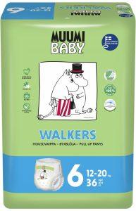 Muumi Baby jednorázové Walkers