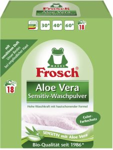 Frosch Sensitive prací prášek