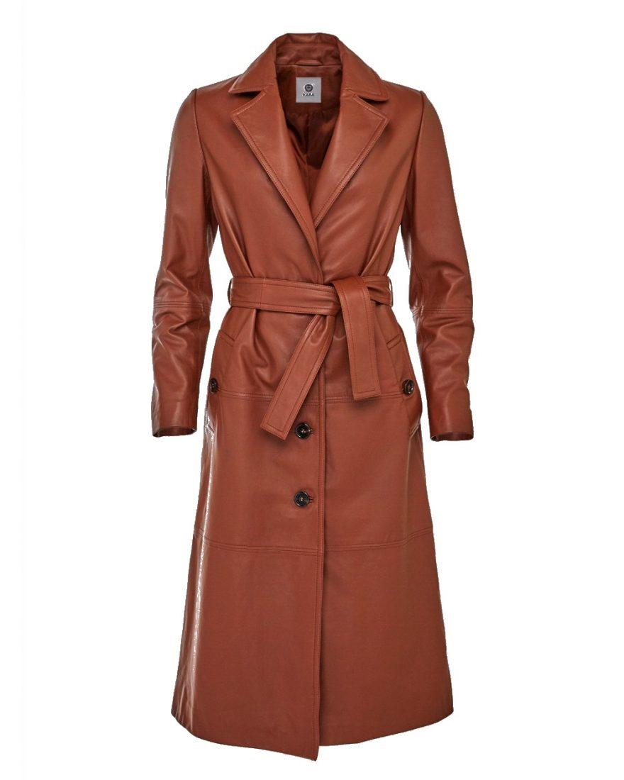 Stylové kožené kabáty